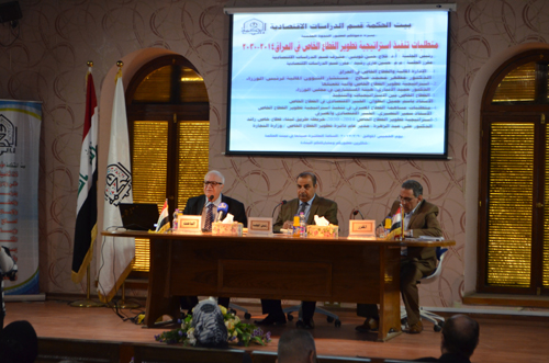 Implementation of private sector development in Iraq 2014-2030 strategic requirements