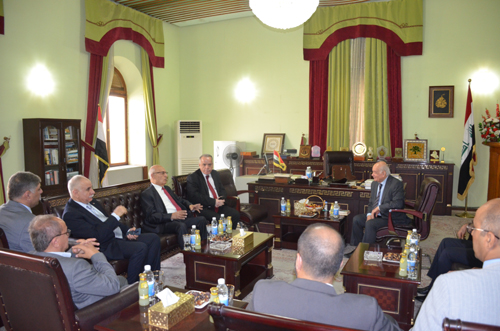 Visit the Advisor to the President of the State of Palestine for Foreign Affairs and International Relations to Beit Hikma